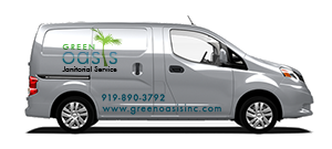 photo of the Green Oasis van
